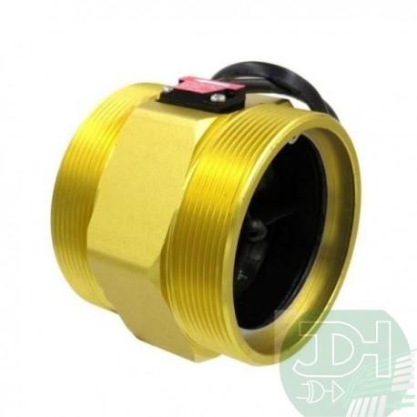 Water flow sensor Flowmeter 20-500 L / min (3 Inches) DN80