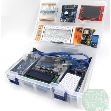 Super Kit de Shields para Arduino UNO, MEGA y WeMos para diseño de productos electrónicos y prototipado rápido