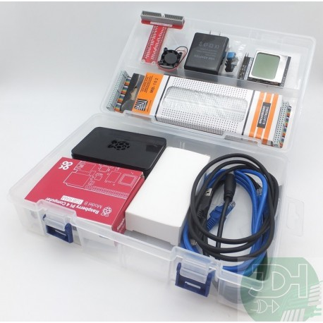 Super Kit Raspberry Pi 4 Multiprojects With Accessories And More