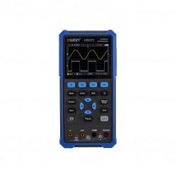 Osciloscopio Portátil de Mano 2 canales 40MHz ó 70MHz + Multimetro + Generador de señales Marca OWON HDS2xx