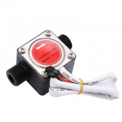 """Sensor de flujo de líquidos, caudalimetro, pintura, leche, aceite, diesel. Sensor de engranes ovalados. Tubería 1/2"""""""