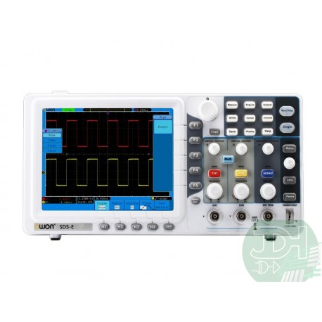 Digital Oscilloscope 2ch 8-Inch LCD-TFT Owon SDS economic version from 30 to 125MHz and 500MSa/s and 1GSa/s