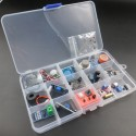 Analog sensors & transducers KIT for multisensorial electronics or physics lab projects.