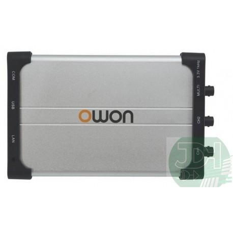 PC Oscilloscope 2+1 Channels 60MHz 500MSa/s USB+LAN interface Owon VDS2062
