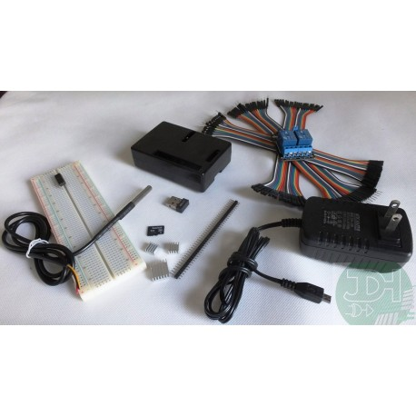 Kit de Accesorios Raspberry Pi 2/B+ PLUS