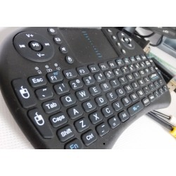 Wireless Mini Keyboard+mousepad | Raspberry | Smarttv | Android