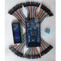 Kit Mega2560 + USB cable + Dupont jumpers + Humidity & Temperature sensor DHT11 + 1602 LCD 100% Arduino compatible