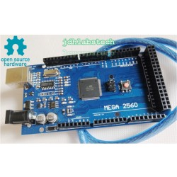Mega 2560 Board with USB Cable 100% compatible with Arduino IDE