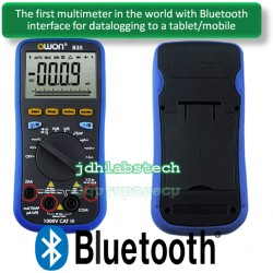 Multimetro digital medición Temperatura y comunicación Bluetooth OWON BT35