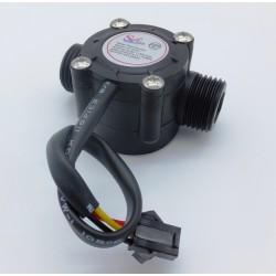"Sensor De Flujo De Líquidos. Caudalímetro 1 A 30 Litros/min DN15 G 1/2"""
