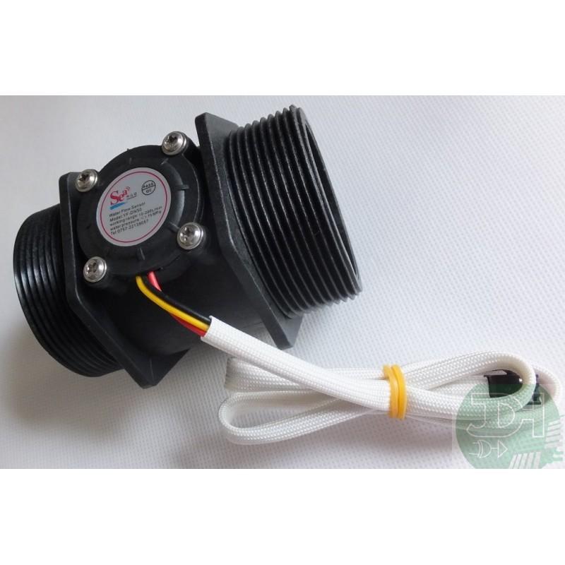 Sensor flujo l quidos caudal metro 10 a 300 litros min - Liquidos para desatascar tuberias ...