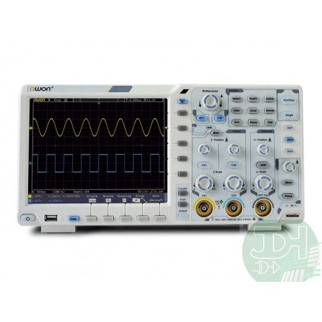 OWON XDS Series 100MHz/2ch Oscilloscope + Waveform Generator + Multimeter + Battery and MORE