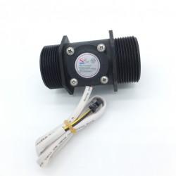 Sensor de Flujo de Líquidos Caudalímetro 5 a 150 litros/min para tuberías 1.5 pulgadas (DN40)