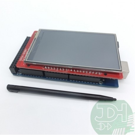 3.5-inch TFT Touchscreen display for Arduino UNO, Leonardo o MEGA