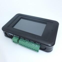 Caudalímetro Contador de Litros Totalizador con 4 Alarmas Programables