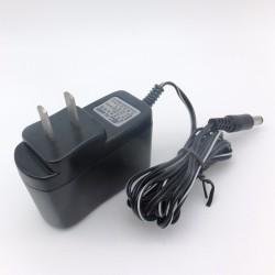Adaptador de CA, convertidor CA / CD, entrada 110-240VCA salida 9VCD capacidad de hasta 1A