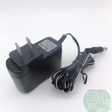 Adaptador de CA, convertidor CA / CD, entrada 89-240VCA salida 9VCD capacidad de hasta 1A