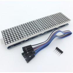 Letrero electrónico luminoso de 4 módulos LED 8*8 matricial