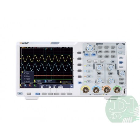 OWON XDS3064-E Series 4 Channels 60MHz Touchscreen Digital Storage Oscilloscope