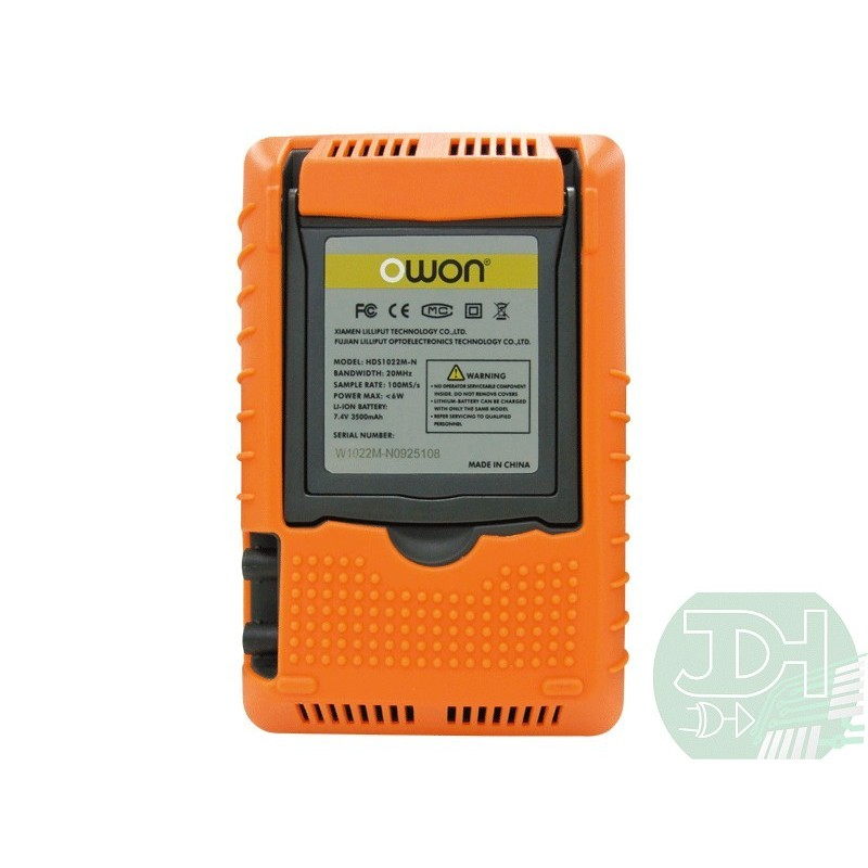 Portable Digital Oscilloscope : Handheld digital oscilloscope ch multimeter owon hds