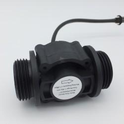 """Sensor de Flujo de Agua Caudalímetro 1 a 60 litros/min para tubería de 1"""" pulgada (DN25)"""