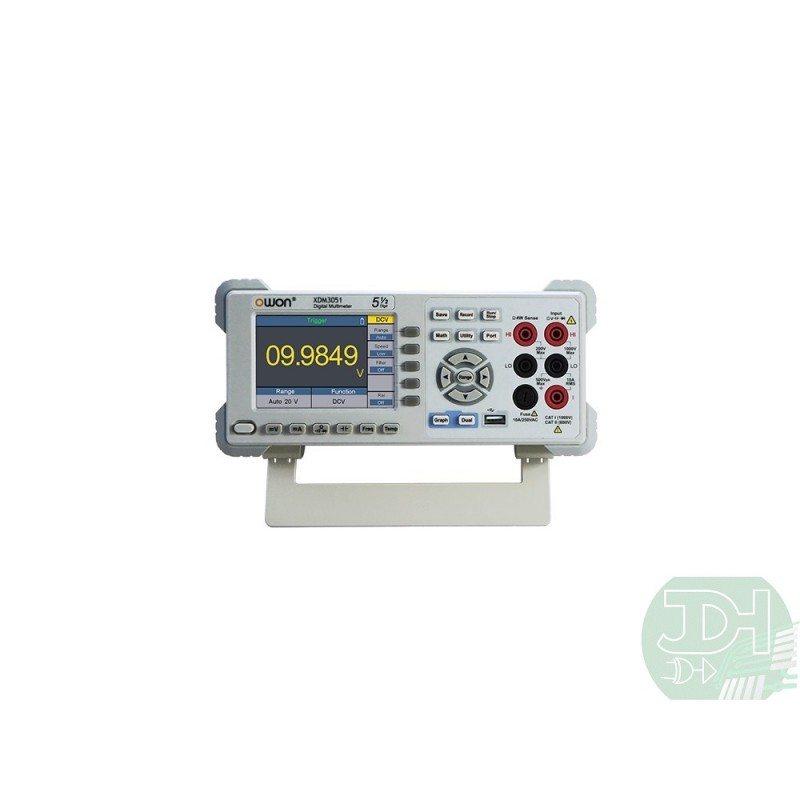 Owon 5 1 2 Digits Bench Type Digital Multimeter With 4 Inch Lcd