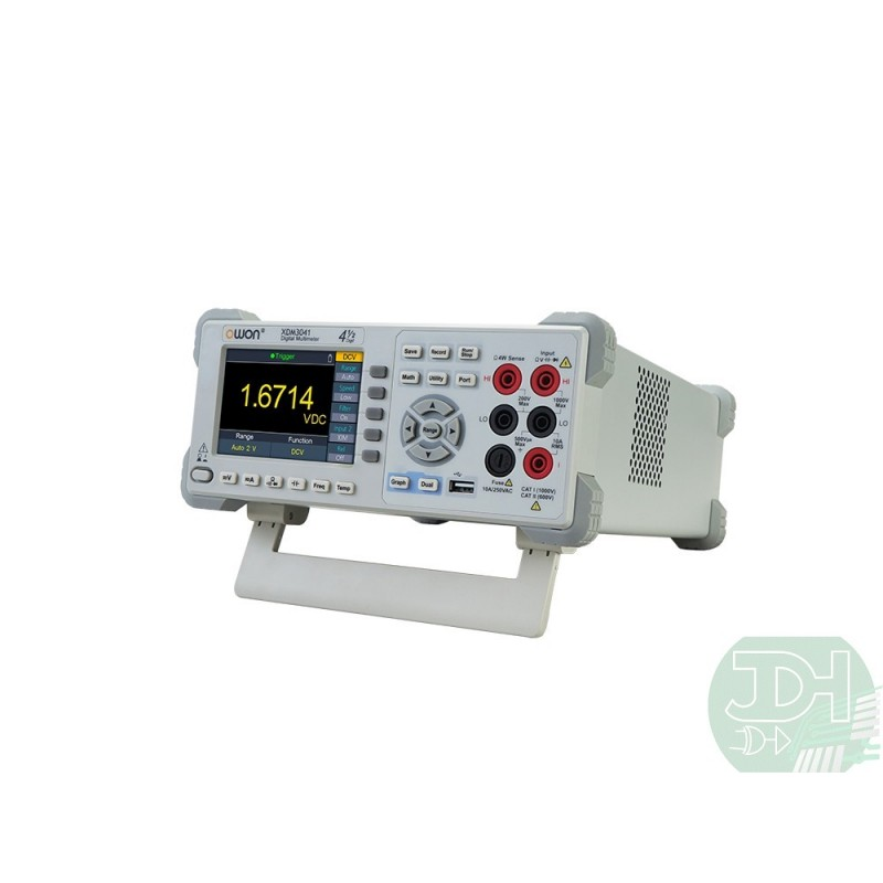 Owon 4 1 2 Bench Type Digital Multimeter With 4 Inch Lcd