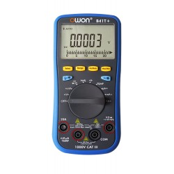 Multímetro digital B41T + OWON de 4 1/2 dígitos con interfaz Bluetooth y TrueRMS