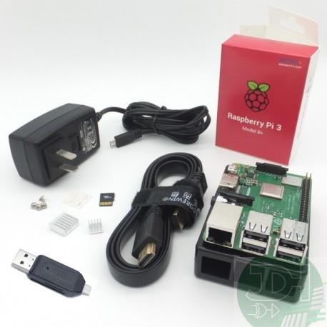 Kit Raspberry Pi 2 +microsd 8gb +gabinete +fuente 2.5a +WiFi +disipadores
