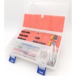 Starter Kit de Electrónica Digital con compuertas, circuitos lógicos y accesorios