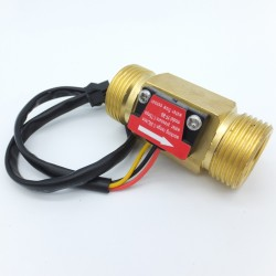Coppermade Flowmeter sensor 1 to 30 liters/min NPT 3/4