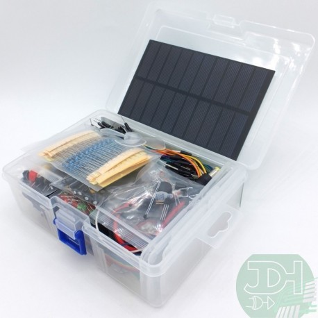 Integral Electronics Kit with Solar Panel and much more